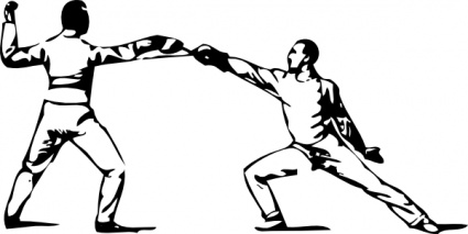 Clipart Royalty Free Stock Fencing Free On Dumielauxepices - Fencing Sport  Icon - Free Transparent PNG Clipart Images Download
