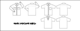 line,drawing,shirt,white,cloth,template,tempalates,tshirt,t-shirt,t,button,clothes,collar,cotton,free vector shirt,front and back,shirt vector,short and long sleeve