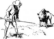 hunting,boar,man,hunter,animal,media,clip art,externalsource,public domain,image,png,svg