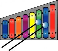 xylophone,colourful,music,instrument,colouring book