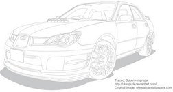 transport,free,vector,racing,car,without,color,motos,line,drawing,vehicle,subaru,impreza