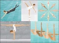 scuba,diving,skating,synchronized,swimming,gymnastics,balance,beam