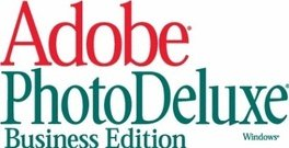 adobe,photodeluxe,logo