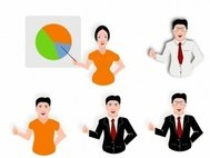 presentation,male,female,color,cartoon,media,clip art,public domain,image,svg,png