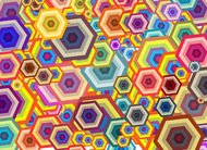 wallpaper,polygon,colorful,different,shape,abstract,element,graphic,illustration,background,pattern