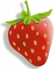 strawberry,color,fruit,food,media,clip art,public domain,image,png,svg