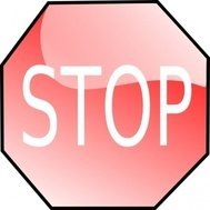 stop,sign,symbol,roadsign,red,glossy,media,clip art,public domain,image,svg