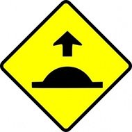 leomarc,caution,sped,hump,sign,traffic,roadsign