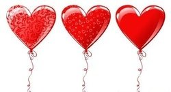 heart,shaped,balloon