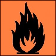 flammable,symbol