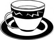 coffee,fastfood,food,menu,colouring book,lunch,dinner,drink,tea,cup,saucer,dish,dish