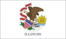 illinois,flag