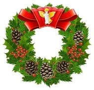 christmas,wreath