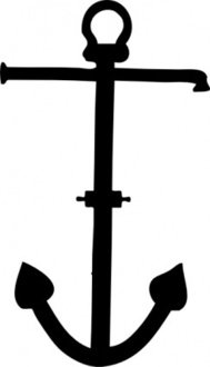 admiralty,pattern,anchor,sailing,maritime,silhouette