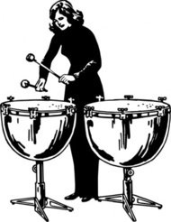 woman,playing,kettledrum,people,music,mmusical instrument,percussion instrument,line art,black and white,contour,outline,media,clip art,externalsource,public domain,image,png,svg,wikimedia common,psf,wikimedia common