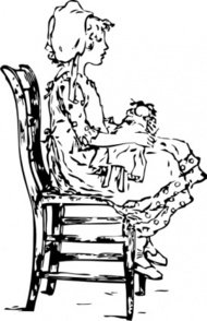 girl,sitting,chair,person,historical,media,clip art,externalsource,public domain,image,png,svg