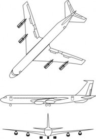 airplane,outline,clip