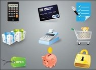 calculator,credit,card,cash,register,save,money,ecommerce,icon,e-commerce,visa,cashier,box,gift,present,pig,piggy,bank,lock.pad,lock,security,tag,buy,shopping,checklist,coin,web,element,icon,coin,element