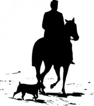 riding,horse,silhouette