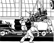 comes,engine,factory,industry,transportation,car,assembly line