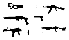 gun,silhouette,ammunition,ak47,p90,shotgun,g36,m24,saw,desert,eagle.,guns,ak47,p90,shotgun,g36,m24,saw,desert,eagle.
