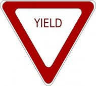 yield,sign