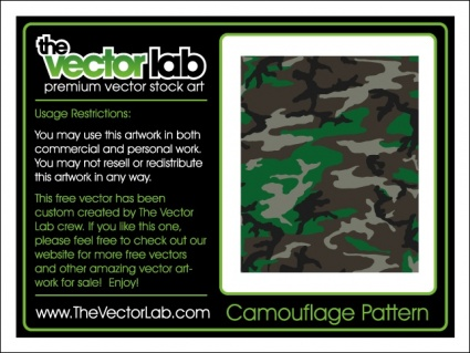 Camouflage pattern background - Download Free Vectors, Clipart Graphics &  Vector Art