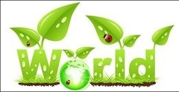 grass,leaf,globe,eco,ladybug,grow,green,earth