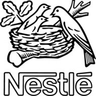 nestle,bird,logo