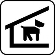 kennel,dog,park,map,pictograph,symbol,service,cartography