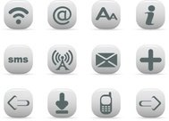 communication,icon,arrow,download,email,font,internet,large,online,phone,rss,small,sm,vector icon,wifi