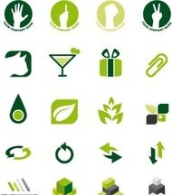 green,logo,element