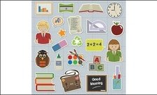 student,book,rubber,glue,transcript,stationery