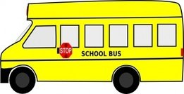 school,transportation,education,bus,mini bus,school bus,media,clip art,public domain,image,png,svg