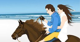 people,_people,couple,on,horse,nature,beach