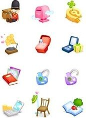 ikon,toy,soldier,mail,box,chair,turn,table,flower,icon,table,flower