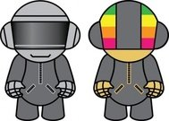 daft,punk,doll,cartoon,daft,doll,doll