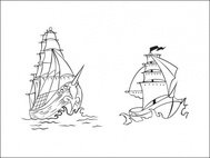 pirate,ship,sail,navigation,tattoo,drawing,sketch,boat,water,craft,galleon,vessel