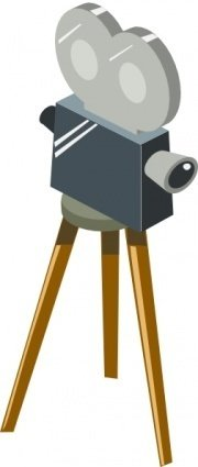cartoon,movie,camera,color,film,media,clip art,public domain,image,png,svg