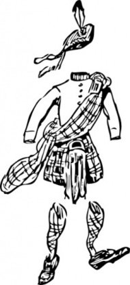 scotsman,clothes,scottish,clothing,kilt,costume,media,clip art,externalsource,public domain,image,png,svg