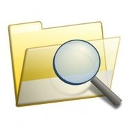 simple,folder,seek,office,icon,magnifying glass,magnification,magnifying