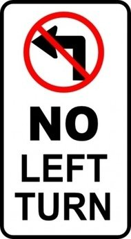 left,turn,sign,roadsign,media,clip art,public domain,image,svg