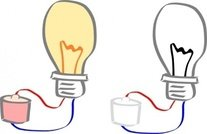 light,bulb,cartoon,media,clip art,public domain,image,svg