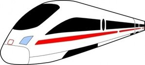 train,ice,transportation,speed,germany,media,clip art,public domain,image,png,svg,inkscape