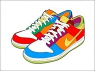 nike,dunk,chaussure,espadrille,trainer,caoutchouc,cook,pied,chaussures,animaux