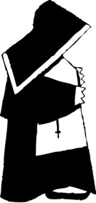 cartoon,woman,nun,religion,christianity,media,clip art,externalsource,public domain,image,png,svg