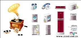 household,appliance,telephone,icon,material
