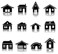 mini huis,huis,pictogram