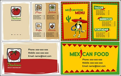 Mexican Food Cuisine Or Restaurant Menu Vector Icon Templates Set Stock  Vector - Illustration of logo, meal: 96658862