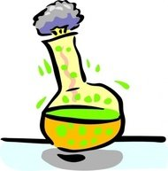 chemical,experiment,science,chemistry,lab,laboratory,glass,flask,media,clip art,public domain,image,svg